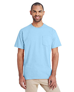 Chambray ADULT Hammer™ Adult 6 oz. T-Shirt with Pocket