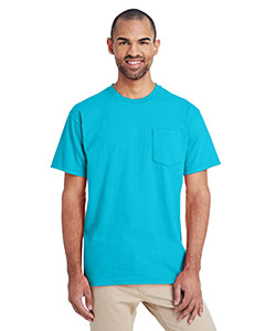 Lagoon Blue ADULT Hammer™ Adult 6 oz. T-Shirt with Pocket