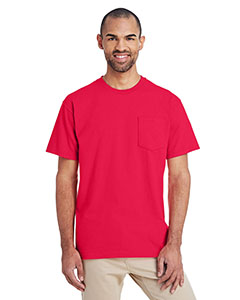 Sprt Scarlet Red ADULT Hammer™ Adult 6 oz. T-Shirt with Pocket