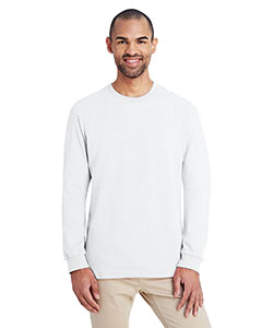 White ADULT Hammer™ Adult 6 oz. Long-Sleeve T-Shirt