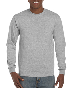 Rs Sport Grey ADULT Hammer™ Adult 6 oz. Long-Sleeve T-Shirt