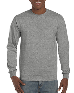 Graphite Heather ADULT Hammer™ Adult 6 oz. Long-Sleeve T-Shirt