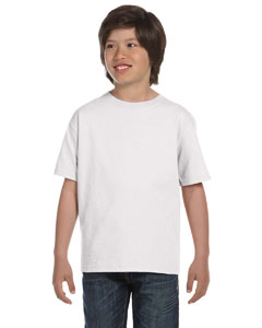 White Youth 6 oz., 100% Cotton Lofteez HD® T-Shirt
