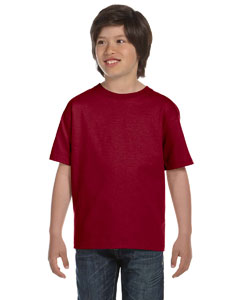 Maroon Youth 6 oz., 100% Cotton Lofteez HD® T-Shirt