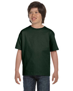 Forest Green Youth 6 oz., 100% Cotton Lofteez HD® T-Shirt