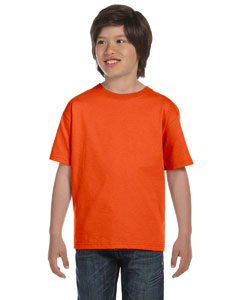 Burnt Orange Youth 6 oz., 100% Cotton Lofteez HD® T-Shirt