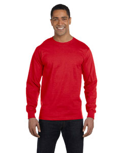 True Red 6 oz., 100% Cotton Lofteez HD® Long-Sleeve T-Shirt