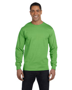 Kiwi Green 6 oz., 100% Cotton Lofteez HD® Long-Sleeve T-Shirt