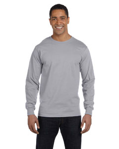 Athletic Heather 6 oz., 100% Cotton Lofteez HD® Long-Sleeve T-Shirt
