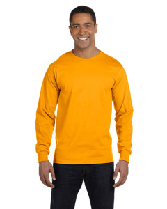 Gold 6 oz., 100% Cotton Lofteez HD® Long-Sleeve T-Shirt