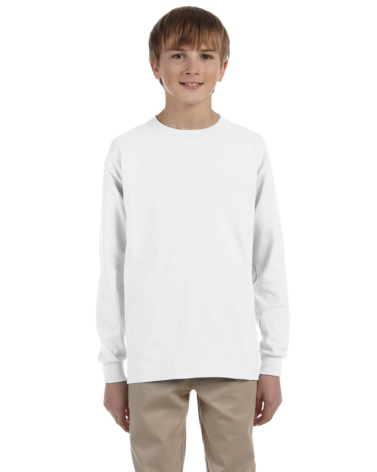 7194d1fbc2b ... 50 50 Heavyweight Blend™ Long-Sleeve T-Shirt. Click to Zoom