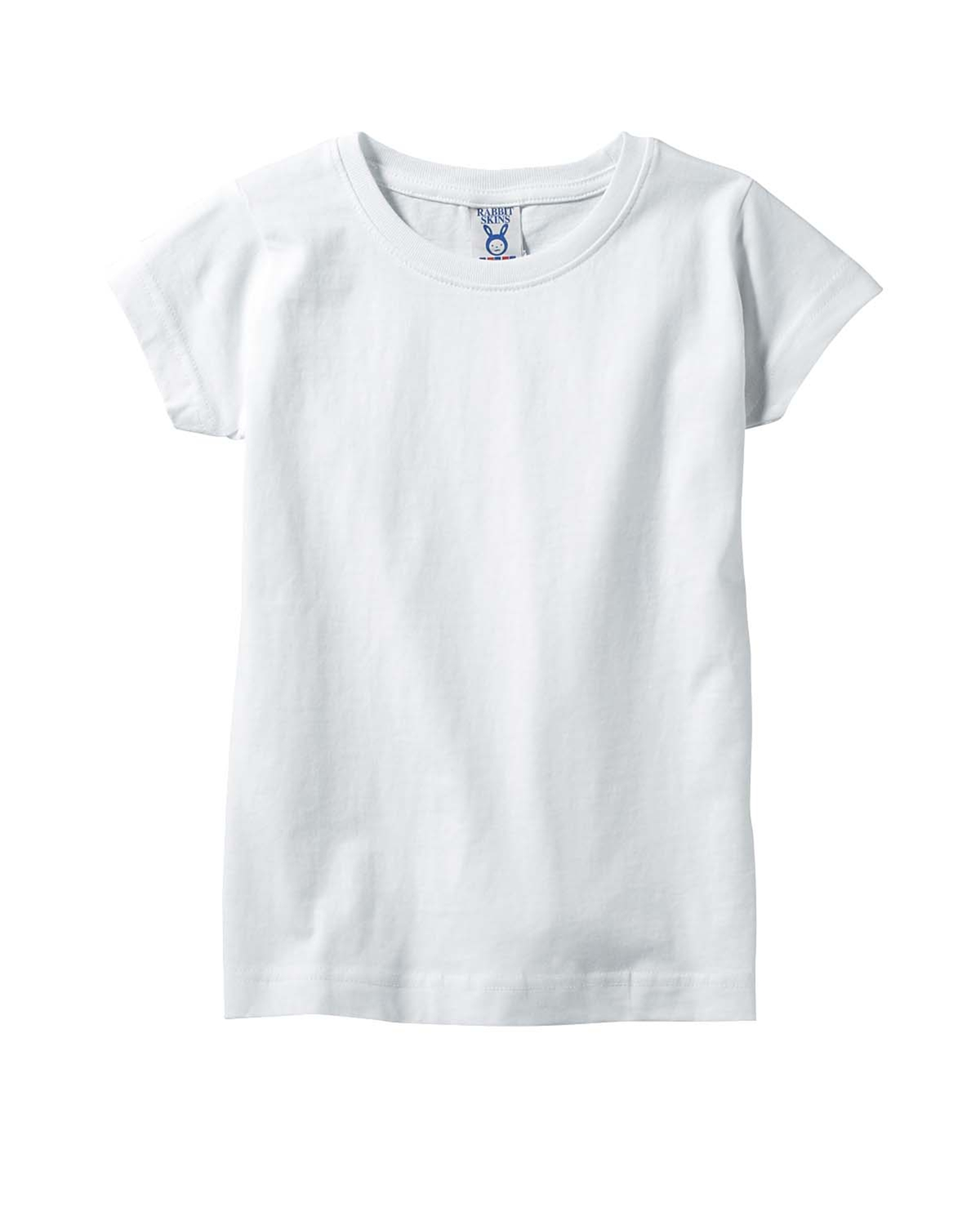 5fcbe6e6 Rabbit Skins 3316 Toddler Girls Longer Length Tee - Shirtmax