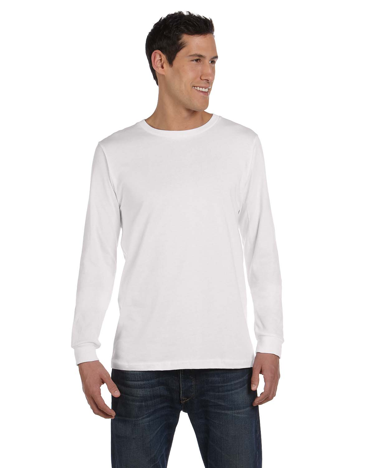 2edc6f71071 Bella+Canvas 3501 Men s Jersey Long-Sleeve Tee - Shirtmax