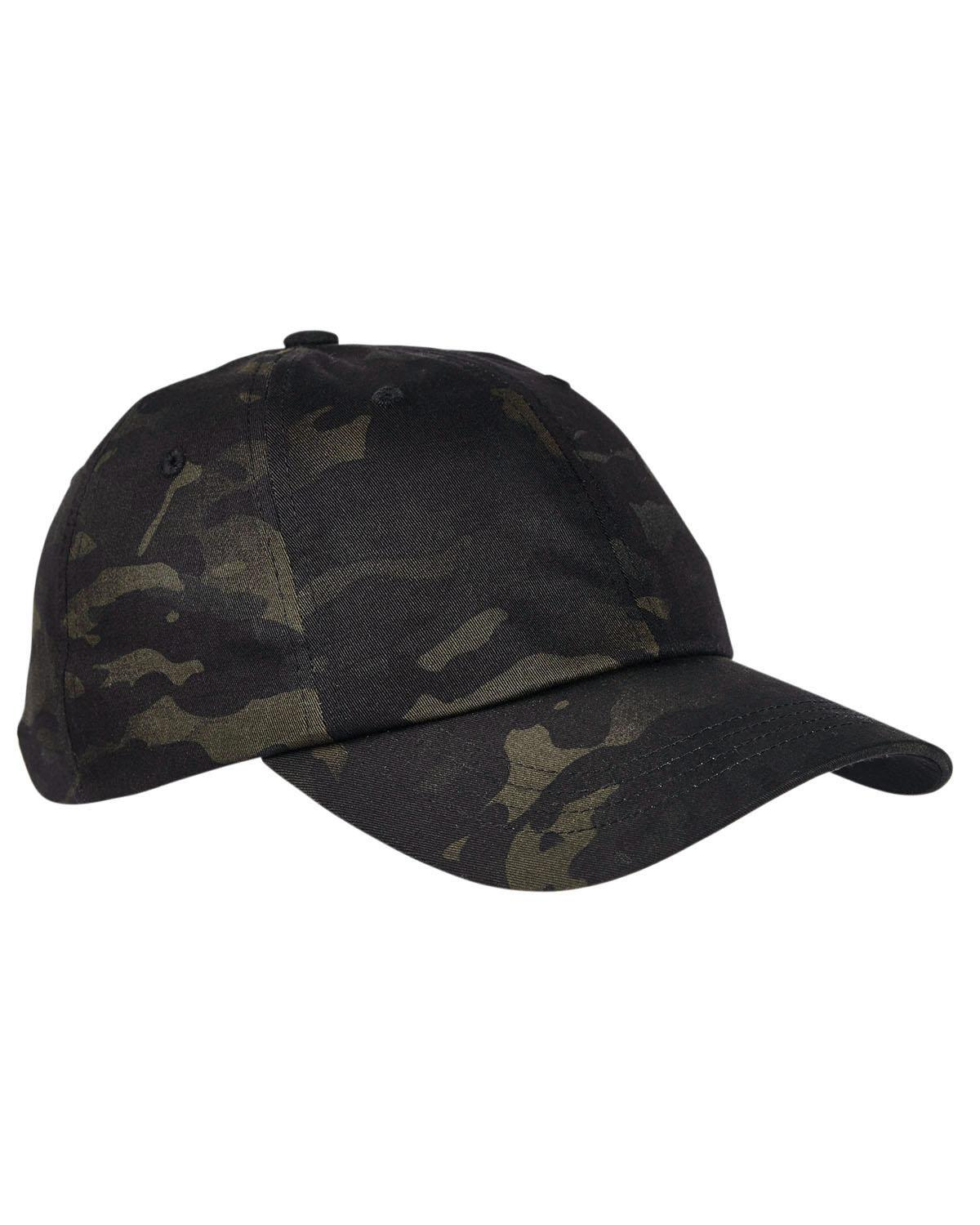 1d912544 Yupoong 6245MC Low Profile Cotton Twill Multicam Cap - Shirtmax