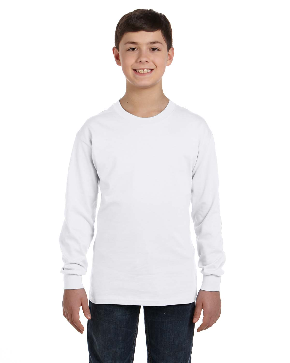 befa8e06 Gildan G540B Youth 5.3 oz. Long Sleeve T-Shirt - Shirtmax