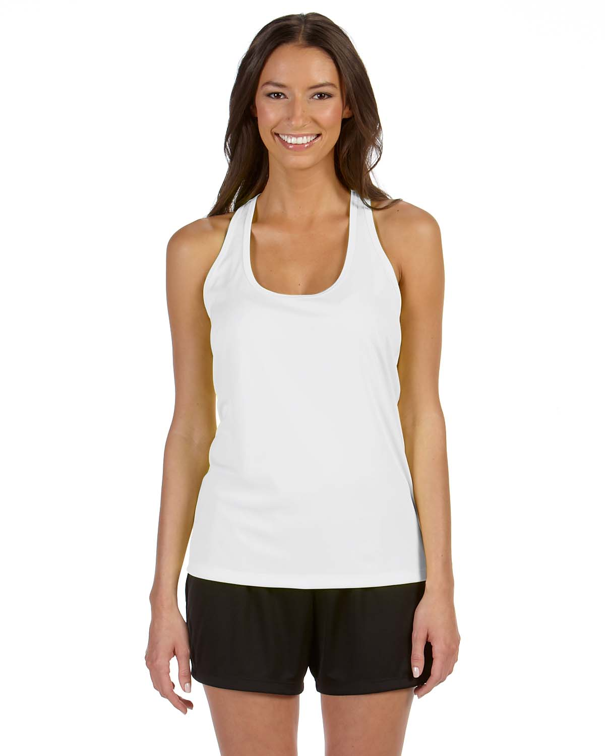 8f195537d880c ... Tops > Ladies' Performance Racerback Tank. Click to Zoom