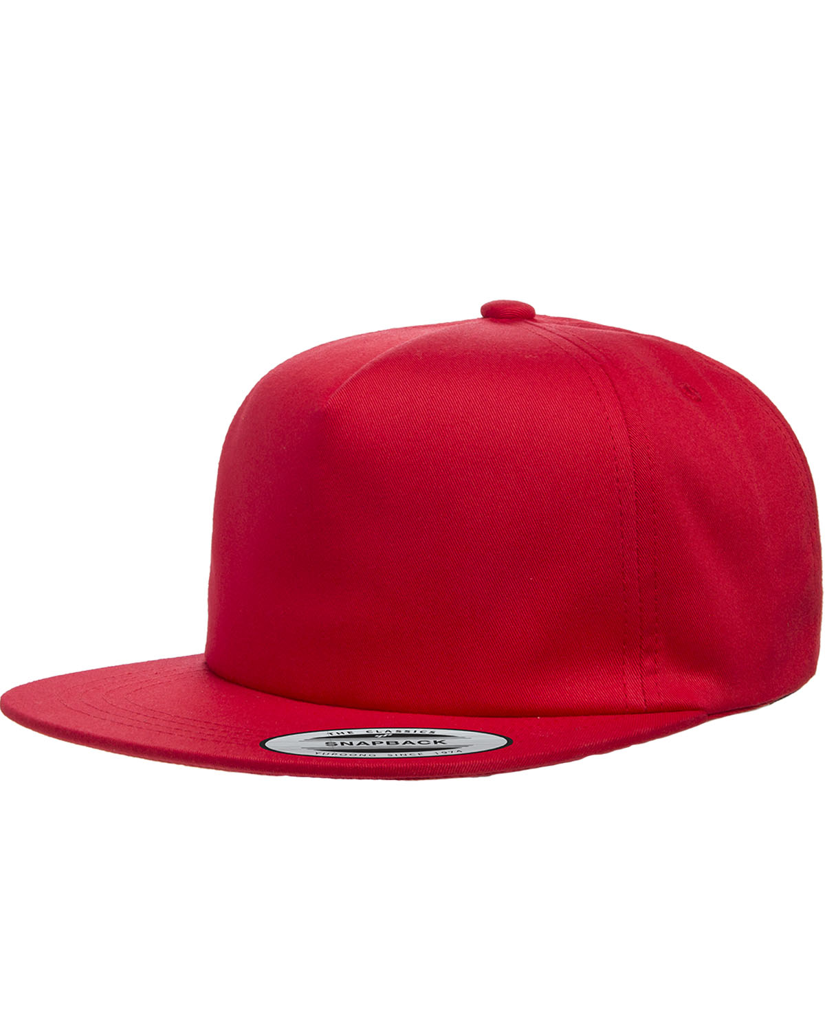 Yupoong Y6502 Adult Unstructured 5 Panel Snapback Cap