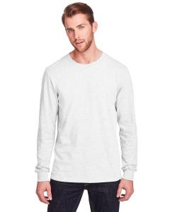 White Adult ICONIC™ Long Sleeve T-Shirt