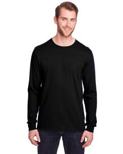 Black Ink Adult ICONIC™ Long Sleeve T-Shirt