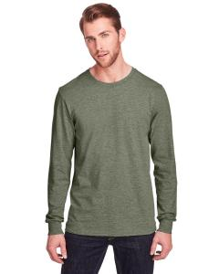 Military Grn Hth Adult ICONIC™ Long Sleeve T-Shirt