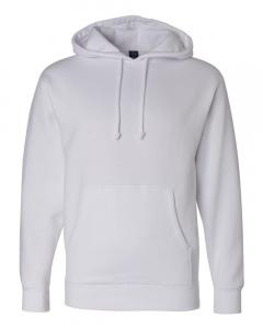 White Heavyweight Hooded Sweatshirt