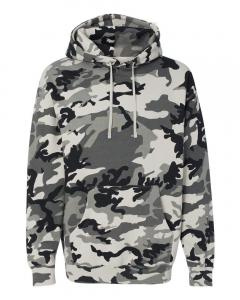 Snow Camo Heavyweight Hooded Sweatshirt