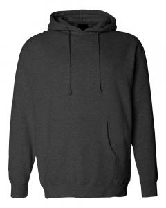 Charcoal Heather Heavyweight Hooded Sweatshirt