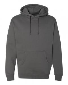 Charcoal Heavyweight Hooded Sweatshirt