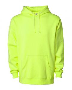 Safety Yellow Heavyweight Hooded Sweatshirt