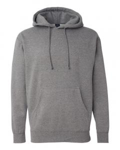 Gunmetal Heather Heavyweight Hooded Sweatshirt