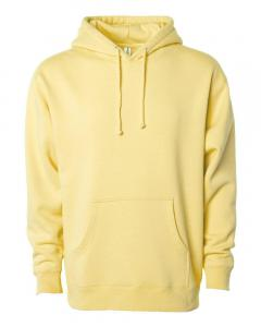 Light Yellow Heavyweight Hooded Sweatshirt