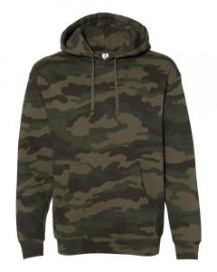 Forest Camo Heavyweight Hooded Sweatshirt