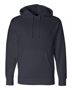 Classic Navy Heavyweight Hooded Sweatshirt