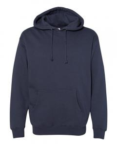 Slate Blue Heavyweight Hooded Sweatshirt
