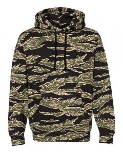 Tiger Camo Heavyweight Hooded Sweatshirt