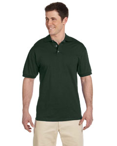 Forest Green 6.1 oz. Heavyweight Cotton Jersey Polo