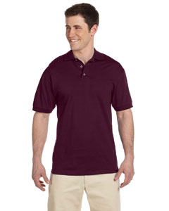 Maroon 6.1 oz. Heavyweight Cotton Jersey Polo