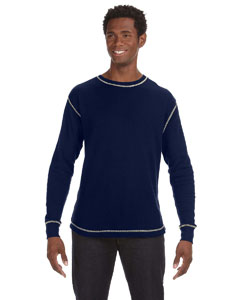 Vint Nv/ Vint Wh Men's Vintage Long-Sleeve Thermal T-Shirt