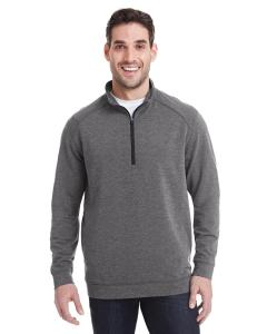 Charcoal Trblnd Adult Omega Stretch Quarter-Zip