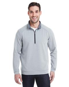 Silver Gry Trbln Adult Omega Stretch Quarter-Zip