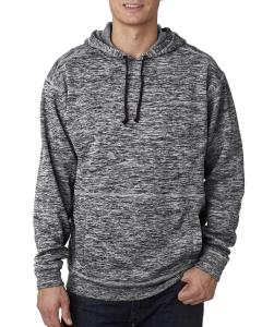 Charcoal Fleck Adult Cosmic Poly Fleece Hood