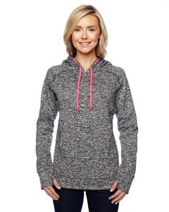 Chr Flk/ Fire Cr Ladies' Cosmic Contrast Fleece Hood