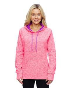 Fre Crl Flk/ Mag Ladies' Cosmic Contrast Fleece Hood