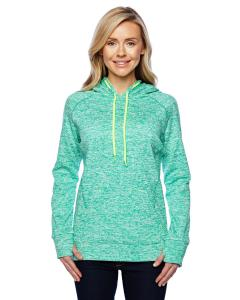 Emer Flk/ Neo Yl Ladies' Cosmic Contrast Fleece Hood