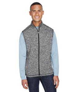 Charcoal Fleck Adult Cosmic Fleece Vest