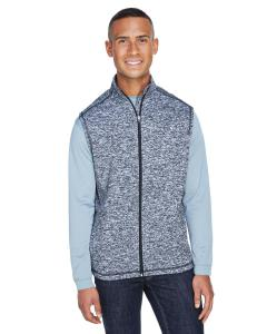 Navy Fleck Adult Cosmic Fleece Vest