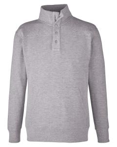 Oxford Ripple Fleece Snap Pullover