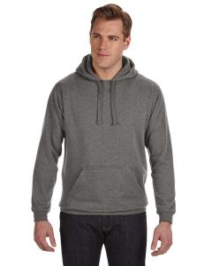 Charcoal Heather Adult Tailgate Fleece Pullover Hood