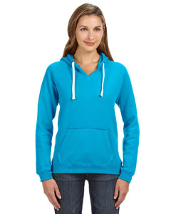 Turqberry Ladies' Sydney Brushed V-Neck Hood