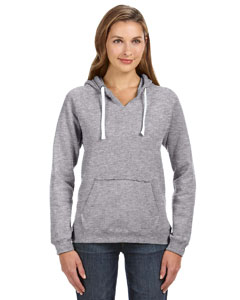 Oxford Ladies' Sydney Brushed V-Neck Hood